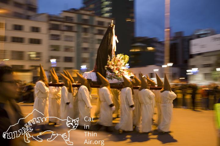Easter Procession, La Paz, Bolivia